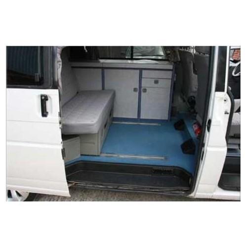Moquette luxe de cabine arri re westfalia pour transporter 90 03 vw t4 mecatechnic for Moquette luxe