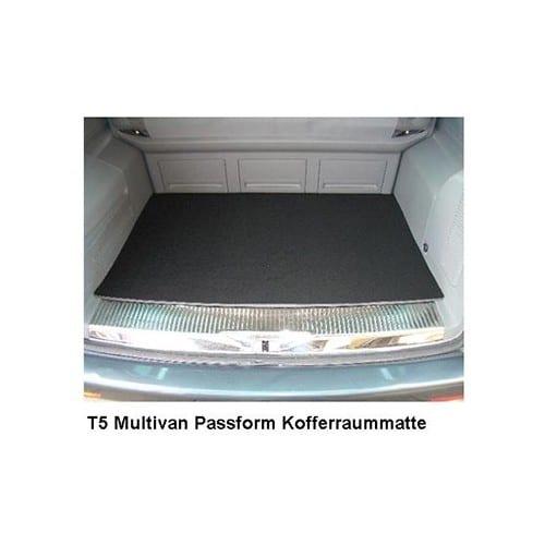 moquette de coffre noire pour vw transporter t5 multivan. Black Bedroom Furniture Sets. Home Design Ideas
