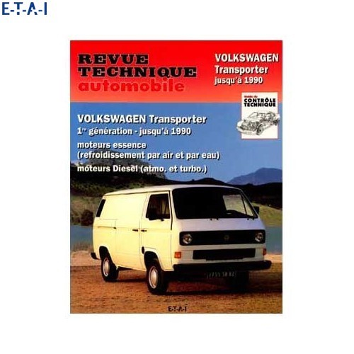 Technical magazine to Volkswagen Transporter since 79 to 90