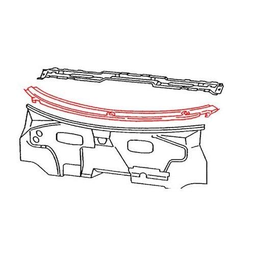 t le de baie de pare brise pour vw transporter t4 94 03. Black Bedroom Furniture Sets. Home Design Ideas