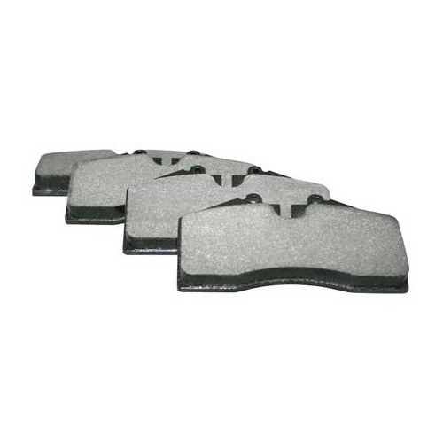 jeu de 4 plaquettes pagid de frein arri re pour porsche 993 3 6 turbo 96535193900 mecatechnic. Black Bedroom Furniture Sets. Home Design Ideas