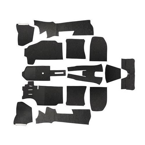 moquettes d 39 habitacle tapis porsche 911 912 pi ces porsche 911 930 912 mecatechnic. Black Bedroom Furniture Sets. Home Design Ideas