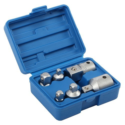 "3pc SDS Perceuse 1//4/"" 3//8/"" 1//2/"" Socket Nut Driver Adaptateur 3pc Chrome Vanadium Acier"