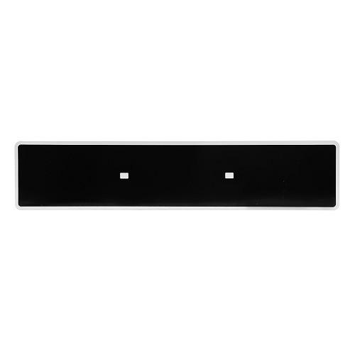 plaques immatriculation noires en idf ou sur le net. Black Bedroom Furniture Sets. Home Design Ideas