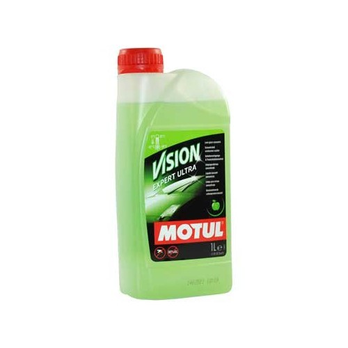 Ultra-concentrated MOTUL expert vision washer fluid product - 1L