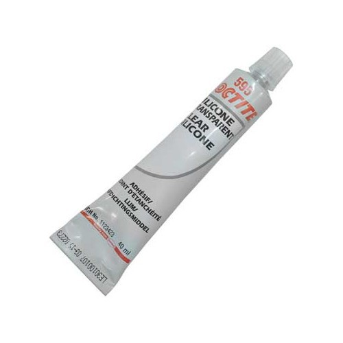 Pâte à joint LOCTITE Silicone clair SI 595 45g