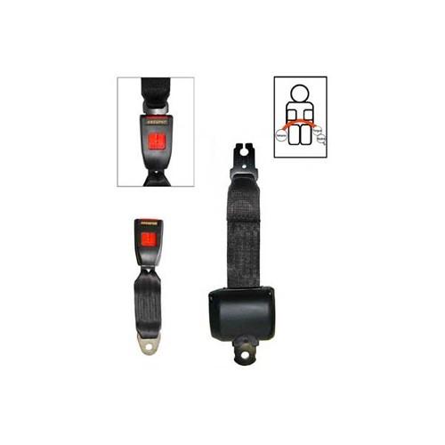 Cinturones traseros enrollable VW Escarabajo - Mecatechnic 3a2bd9c1b725
