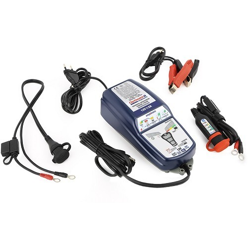 Optimate 6: 12 V battery charger and tester