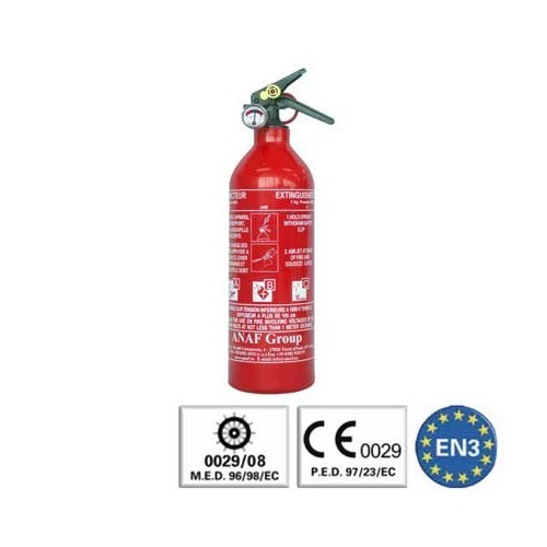 Car extinguishers VW Transporter T4 - Mecatechnic