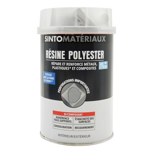 Sintoresin pre-accelerated polyester resin, 1L