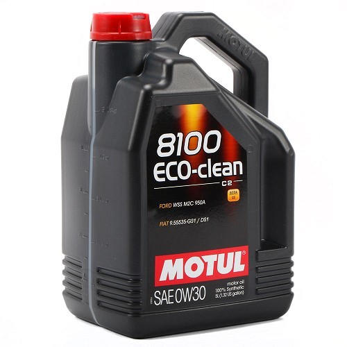 huile motul 0w30 8100 eco clean 5 litres roadloisirs. Black Bedroom Furniture Sets. Home Design Ideas
