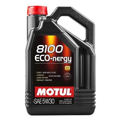 Huile motul 8100 eco nergy 5w30 5l huiles graisses et for Reduction mecatechnic