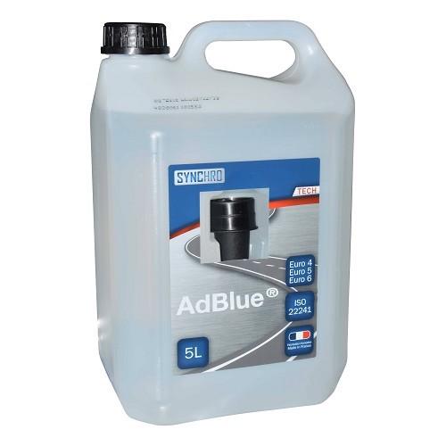 Ad blue additif anti pollution pour moteur diesel bidon for Reduction mecatechnic