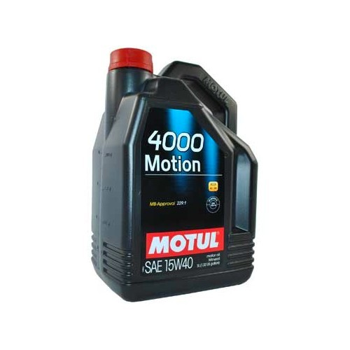 MOTUL 4000 Motion oil - 15W40 - 5L