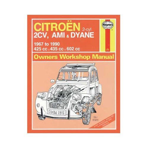 citroen 2cv repair manual pdf