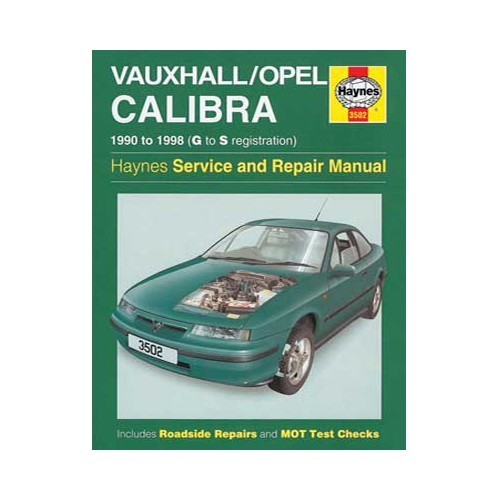 Haynes technical guide for Opel/Vauxhall Calibra