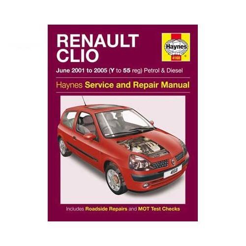 Manual De Taller Haynes Para Renault Clio 2 De 2001 A 2005 978 1 8442 5744 7 9781844257447