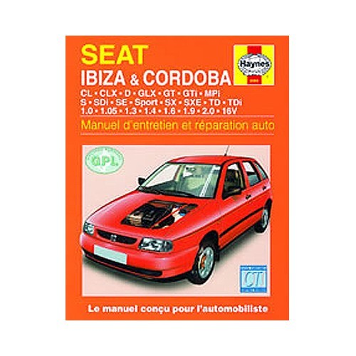 Technical Guide For SEAT Ibiza Cordoba Petrol And Diesel 93 99