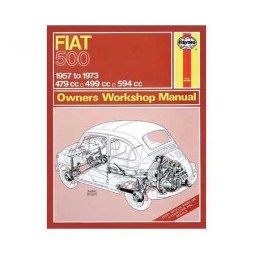 Manual De Taller Para Fiat 500 De 57 A 73 978 0 9005 5090