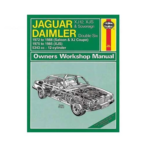 Technical guide for Jaguar XJ12,XJS and Sovereign, Daimler Double-Six from 75 to