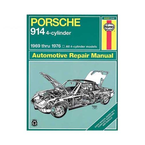 Technical guide for Porsche 914 4-cylinder from 69 to 76
