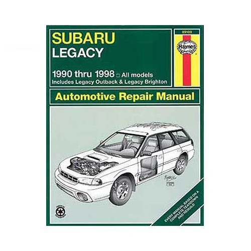 service manual 1997 subaru legacy engine workshop manual. Black Bedroom Furniture Sets. Home Design Ideas