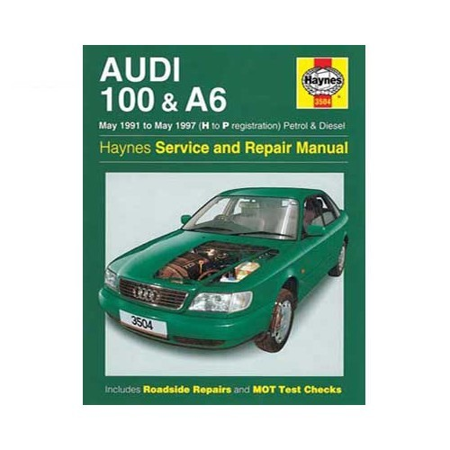 Haynes technical guide for Audi 100 and A6 from 91 to 97