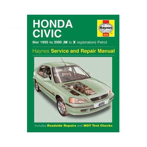 Haynes technical guide for Honda Civic from 95 to 2000