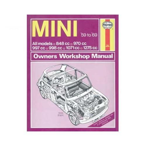 Austin Mini Repair manual Automobile library - Mecatechnic