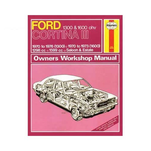 Ford cortina repair manual ford repair manual automobile library haynes technical guide for ford cortina mkiii from 70 to 76 publicscrutiny Images