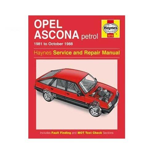 ascona manta repair manual opel repair manual automobile rh mecatechnic com Ascona Tessin Ascona Nova