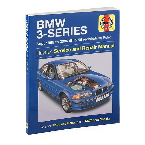 Technical magazine Haynes for BMW E46 gasoline from 98 to 2003