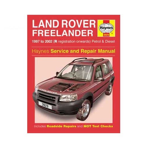 revue technique freelander revue techniq pour land rover librairie auto revue technique. Black Bedroom Furniture Sets. Home Design Ideas