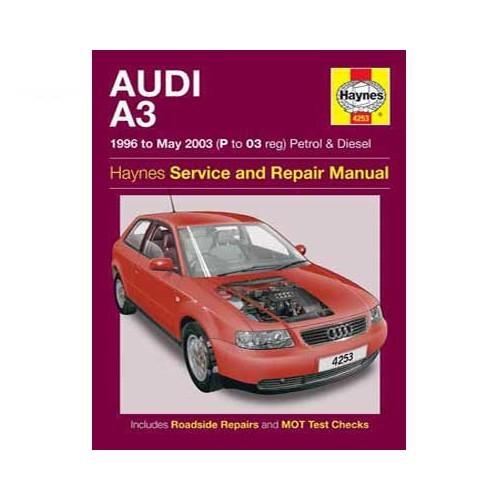 Manual De Taller Audi A3 Gasolina Y Di U00e9sel De 96