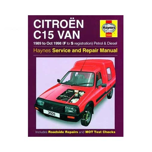 Manual De Taller Haynes Para Citro U00ebn C15 De 1989 A 1998