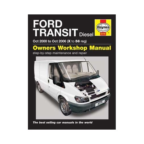 Haynes technical guide for Ford Transit Diesel 10/00 to 10/06