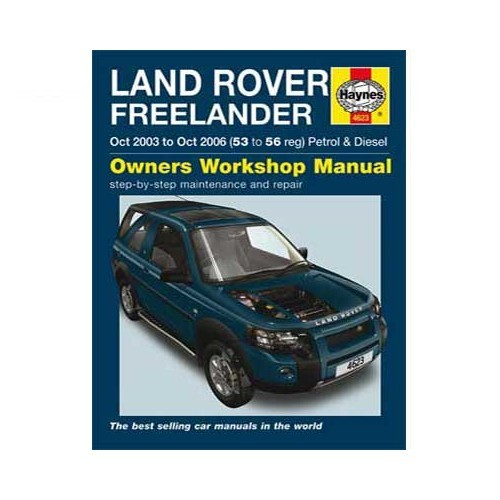 Haynes technical guide for Land Rover Freelander from 10/03 to 10/06