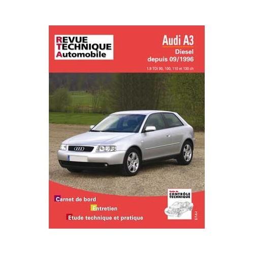 Manual De Taller Rta Para Audi A3 Tdi De 90 A 130 Cv Hasta