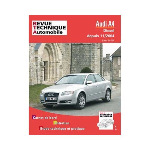 rta technical guide for audi a4 diesel 1 9 l and 2 0 l tdi from 11 rh mecatechnic com Audi A6 Audi A6