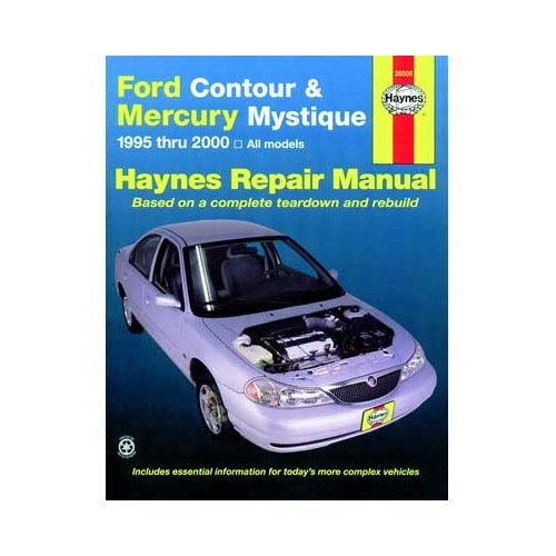 Haynes USA technical guide for Ford Contour and Mercury Mystique from 95 to 2000