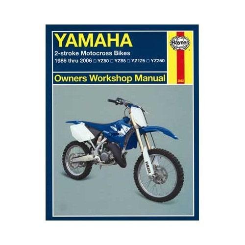 revue technique haynes pour yamaha yz 80 85 125 et mecatechnic. Black Bedroom Furniture Sets. Home Design Ideas