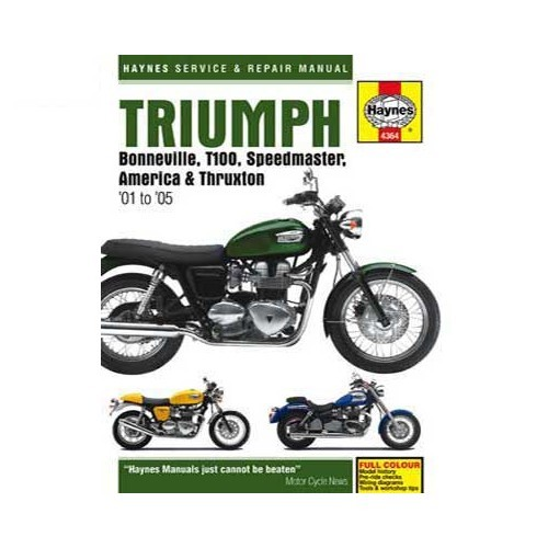 haynes technical guide for triumph bonneville from 2001 to 2005 rh mecatechnic com 2005 triumph bonneville america owner's manual 2005 triumph bonneville america owner's manual