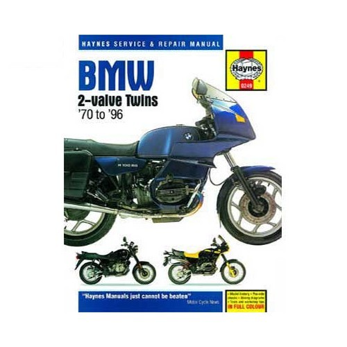 Manual de taller para BMW twins 2 válvulas de 70 a 96