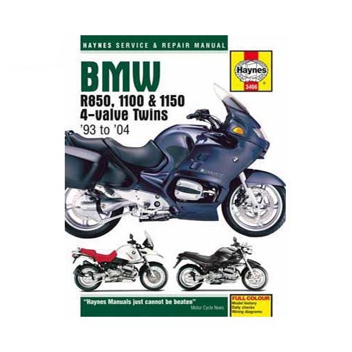 Haynes technical guide for BMW twins 4-valve from 93 to 2004