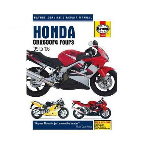 Haynes Technical Guide For Honda CBR 600 F4 From 99 To 06