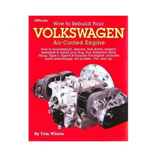 "Livre ""How to rebuild your Volkswagen air-cooled engine"""
