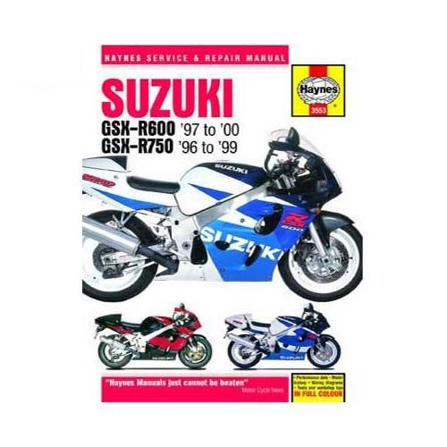 manual de taller haynes para suzuki gsx r600 y 750 de 96 a 2000 rh mecatechnic com 2002 Gsxr 600 Yamaha R1