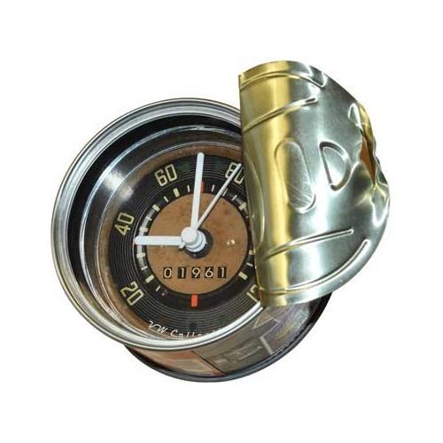 my clock vw combi split tin can speedometer mecatechnic. Black Bedroom Furniture Sets. Home Design Ideas