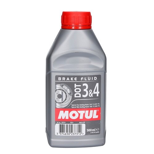 Líquido de freno MOTUL DOT 3 & 4 - 500 ml