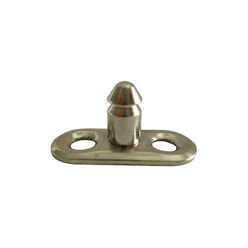 Male safety mounting plate
